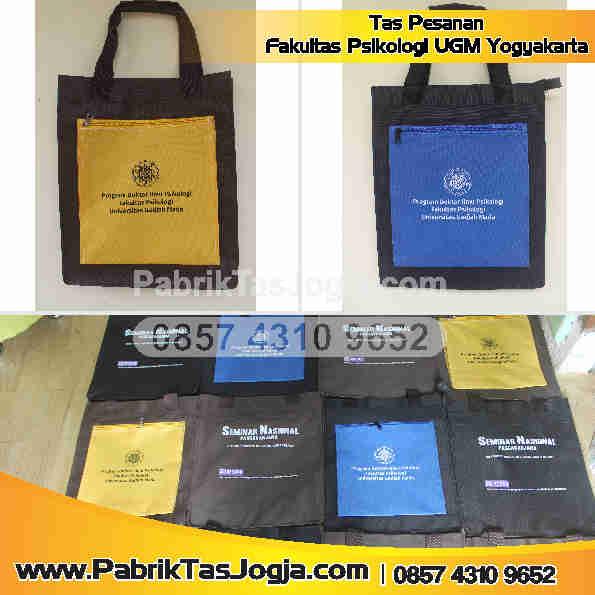 Pabrik Tas Pesanan Fakultas Psikologi UGM Yogyakarta
