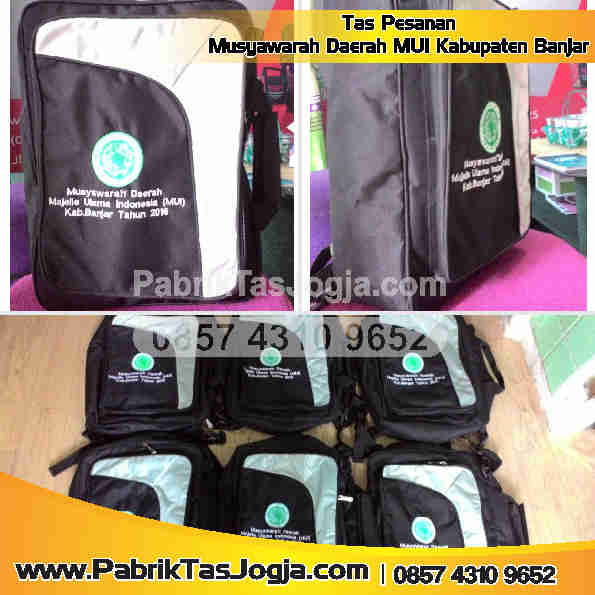 Pabrik Tas Pesanan Musyawarah Daerah MUI Kab. Banjar